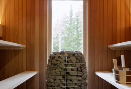 kokoustila ja sauna